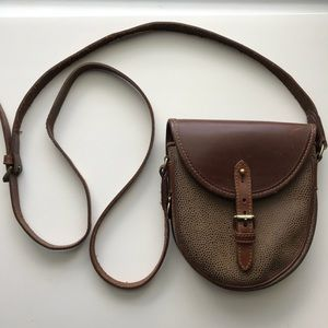 Mulberry England Leather Crossbody Bag